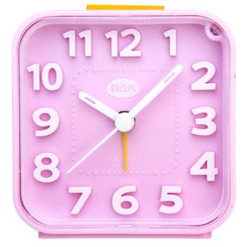 《利百代》利百代 LB-257 粉彩方型 夜光鬧鐘 (隨機出貨)(利百代 LB-257 粉彩方型 夜光鬧鐘 (隨機出貨))