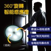 《明家Mayka》明家Mayka GN-360 360度旋轉LED智能感應燈 1入