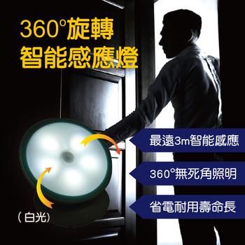 明家Mayka 明家Mayka GN-360 360度旋轉LED智能感應燈 1入
