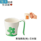 《日華  海夫》杯子 好好握 迷你馬克杯 日本製 (E0890)(粉紅)