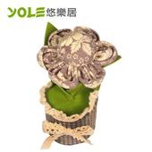 《YOLE悠樂居》獨秀-花藝造型香炭包(2入)#1035058