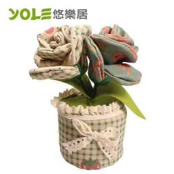 《YOLE悠樂居》嬌顏-花藝造型香炭包(2入)#1035056