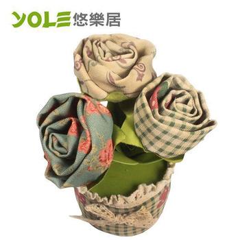 《YOLE悠樂居》薔薇-花藝造型香炭花#1035055