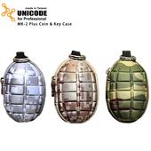 《UNICODE》手榴彈零錢包 MK-2 Plus Coin & Key Case(數位沙漠)