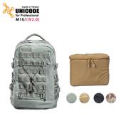 《UNICODE》M1G1 雙肩攝影背包套組(V2.0版)-內袋套組(日耳曼灰)贈70L動物背帶