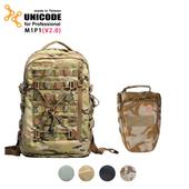 《UNICODE》M1P1 雙肩攝影背包套組(V2.0版)多地迷彩(多地迷彩)贈70L動物背帶