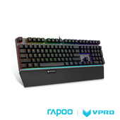 《雷柏 RAPOO》VPRO V720S(青軸) 全彩RGB背光機械遊戲鍵盤