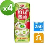《愛之味》Oligo健字號鮮採 蕃茄汁250ml(24瓶/箱)(4箱)