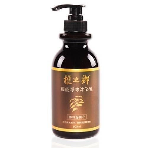 《檀之鄉》機能淨味沐浴凝露(星洲檀香 - 500g/瓶)