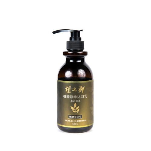 《檀之鄉》機能淨味沐浴凝露(東方草本 - 500g/瓶)