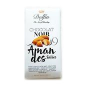 《比利時DOLFIN》鹽杏仁黑巧克力(30 g)
