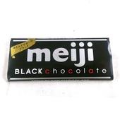 《明治》代可可脂黑巧克力(50g/片)