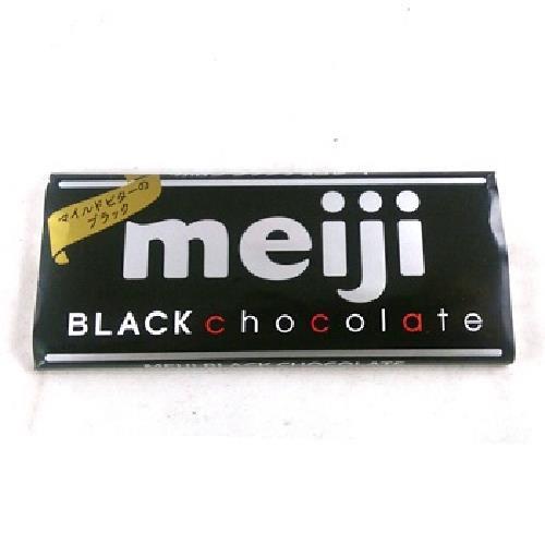 明治 代可可脂黑巧克力(50g/片)