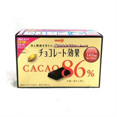 《明治》可可效果86%巧克力(70g/盒)