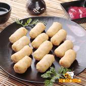 《極鮮配》金黃手工鱈魚甜不辣(200g±10%/包)