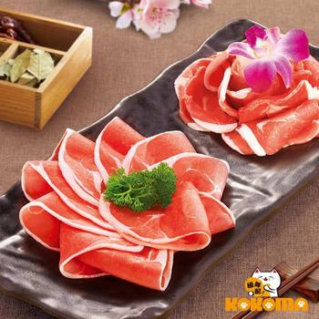 《極鮮配》香嫩小羔羊 火鍋肉片(500g±10%/盒-6盒入)