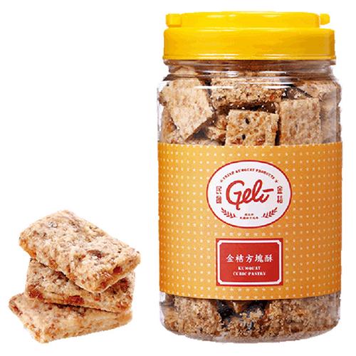 《民雄金桔》金桔方塊酥(450g/罐)