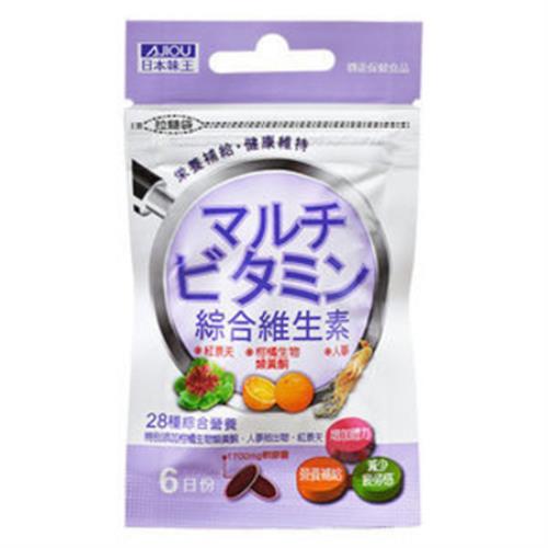 日本味王 綜合維他命軟膠囊(6粒/包)