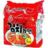 《韓國不倒翁》泡菜風味拉麵(120gx5包 /袋)