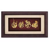 《My Gifts》禮品金箔畫-四君子(框畫系列39x69cm)