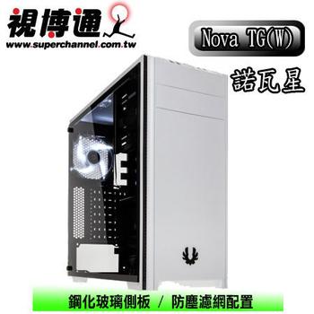視博通 BitFenix Nova TG(W) 諾瓦星(白) ATX電腦機殼 (玻璃透側版)