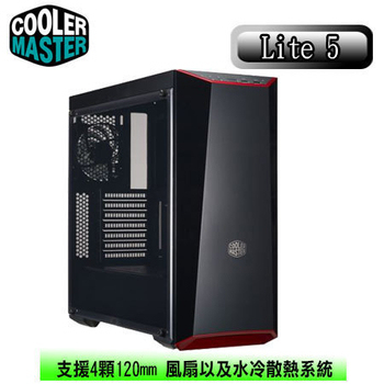 《Cooler 酷媽》Master MasterBox Lite 5 電競機殼