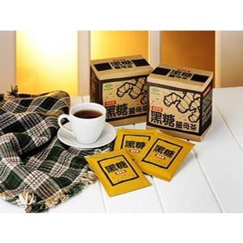 《新竹寶山糖業》黑糖薑母茶 隨身包 沖泡式 150g(盒)X3盒