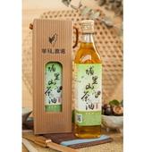 《華秝農場》埔里山茶油(500ML±10%/瓶)