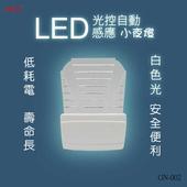 《明家》LED光控自動感應小夜燈GN-002