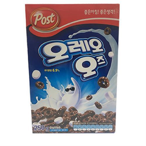 韓國 Post OREO 巧克力棉花糖麥片(250g/盒)