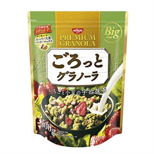 日清NISSIN 水果穀麥片 大包裝 家庭號(500g-宇治抹茶)