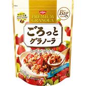 《日清NISSIN》水果穀麥片 大包裝 家庭號(500g-草莓)