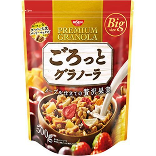 《日清NISSIN》水果穀麥片 大包裝 家庭號(500g-贅澤果實-水果)