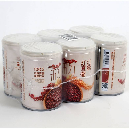 《屏農》紅藜紅豆粥(250g*6入)