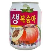 《Nonghyup》水蜜桃汁240ml/罐