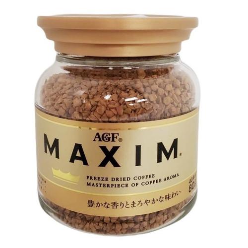 《日本AGF》即溶咖啡系列(80g/罐 - 箴言金咖啡)