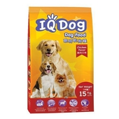 《IQ DOG》聰明乾狗糧15KG(雞肉口味)