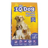 《IQ DOG》聰明乾狗糧15KG(牛肉口味)
