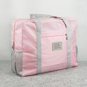 《韓版》牛津布糖果色大容量多用旅行收納袋(櫻花粉)