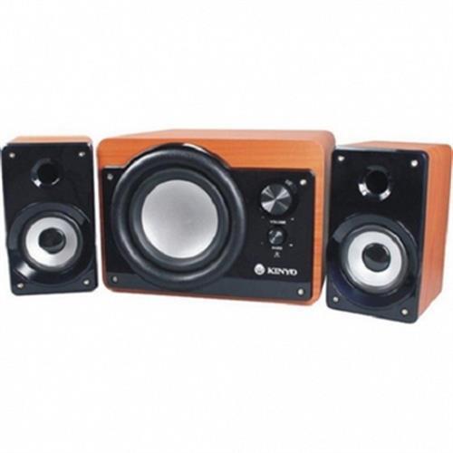KINYO 2.1聲道 典藏版 全木質 超重低音喇叭 KY-7360