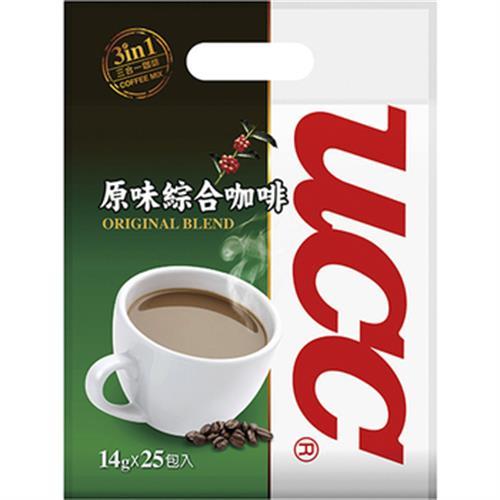 UCC 原味綜合三合一咖啡(14g*25入)