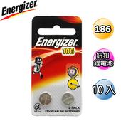 《Energizer勁量》186_LR43 鈕扣 鹼性電池 10入(186_LR43 鈕扣 鹼性電池 10入)