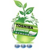 《東芝》新環保高效能碳鋅電池1號20入