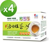 《天明製藥》天明活力旺茶(12包/盒)(4入組)贈一條根滾珠瓶,滿1000再送一條根舒緩貼布