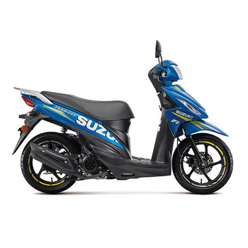 SUZUKI台鈴機車 2016年 Address 110 碟剎 廠隊特仕版 五期噴射 全新車(藍)