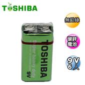 《東芝》新環保高效能碳鋅電池9V6入