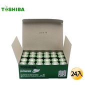 《東芝》新環保高效能碳鋅電池2號24入