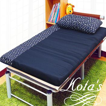 ★結帳現折★KOTAS 冬季透氣床墊 單人 3尺 送記憶枕1顆 記憶枕 單人床墊(藍小花)