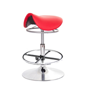 《GXG》馬鞍型 工作椅 TW-T04K (金屬盤、腳踏圈款)(備註組合「編號」)