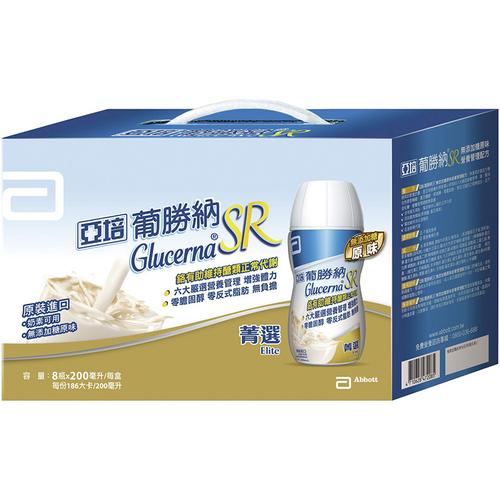 亞培 葡勝納SR菁選原味禮盒 無添加糖(200ml*8)